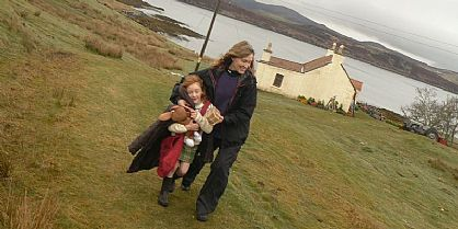 Katie Morag and her Mum Jill